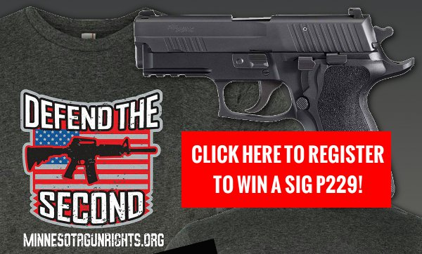 Win a SIG P229 from Minnesota Gun Rights!